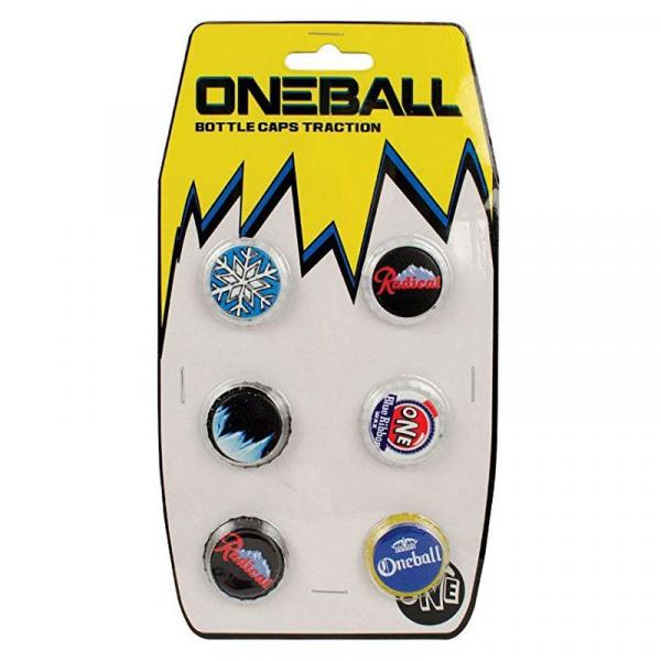 ONE BALL JAY BOTTLE CAPS - černá