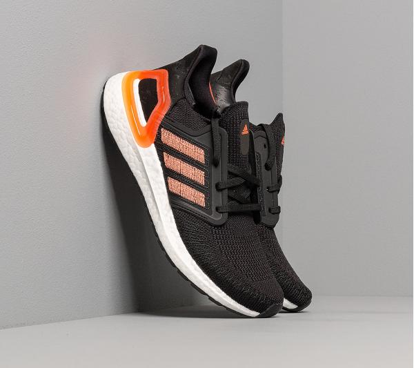 adidas UltraBOOST 20 W Core Black/ Signature Coral/ Ftw White