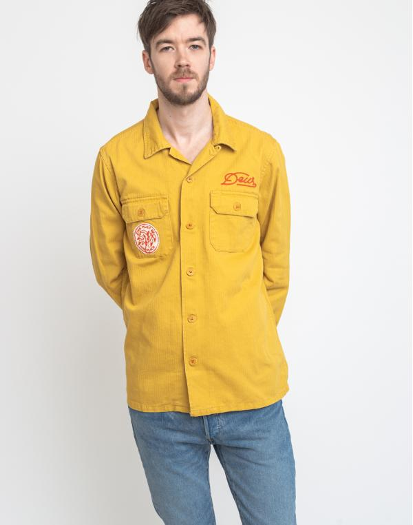 Deus Ex Machina Sea Squalor Shirt Mimosa Gold S