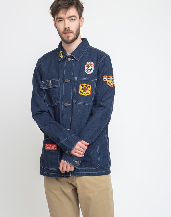 Deus Ex Machina Souvenir Chore Jacket Mid Indigo XL