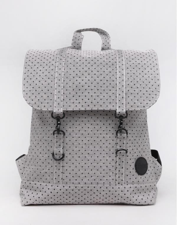 Enter City Mini Melange Black/ Black Polkadot