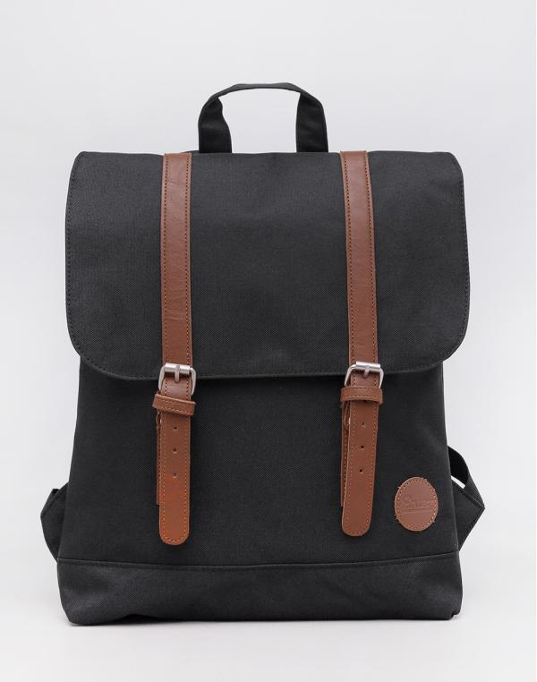 Enter City Mini Front Straps Black Recycled