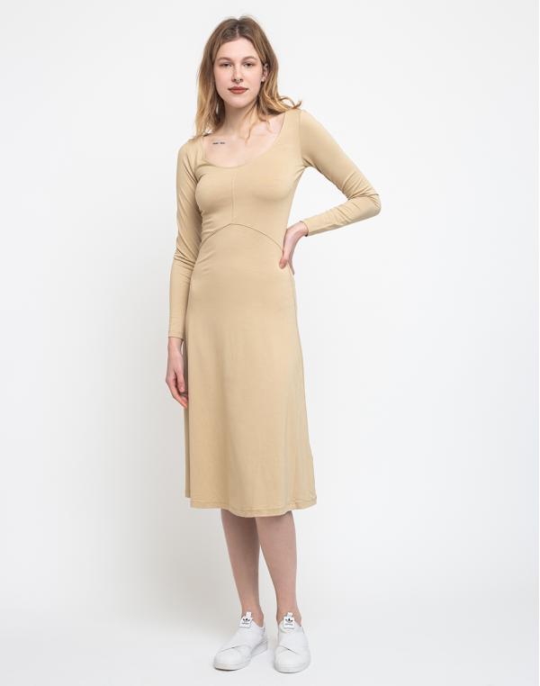 Edited Hedi Dress Beige 38