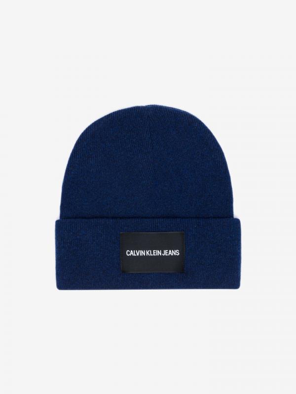 Čepice Calvin Klein Modrá