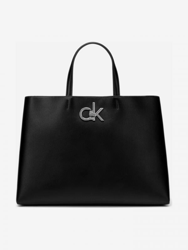 Re-Lock Kabelka Calvin Klein Černá