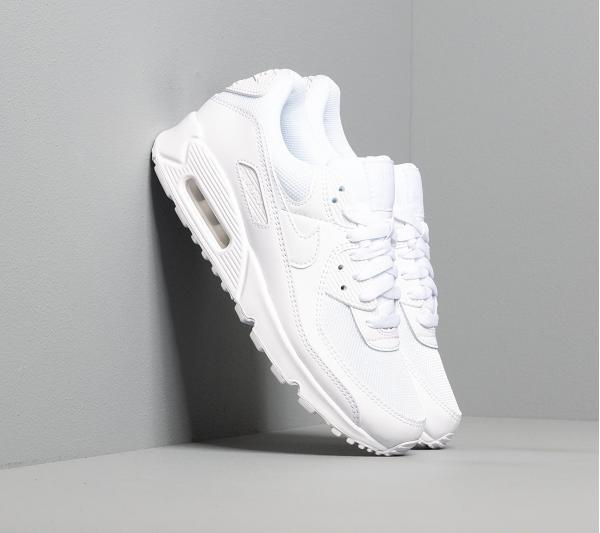 Nike W Air Max 90 White/ White-White-Wolf Grey