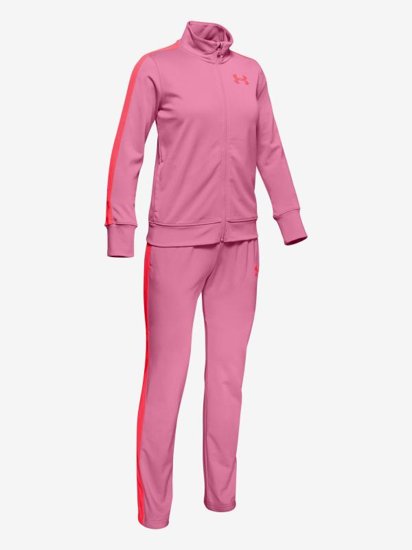 Souprava Under Armour Em Knit Track Suit Růžová