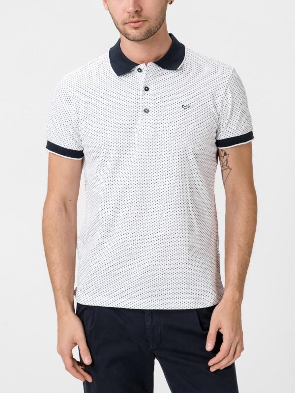 Tričko GAS Ralph/S Star Bílá
