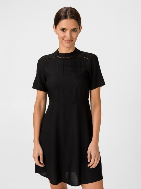 Ibi Šaty Vero Moda Černá