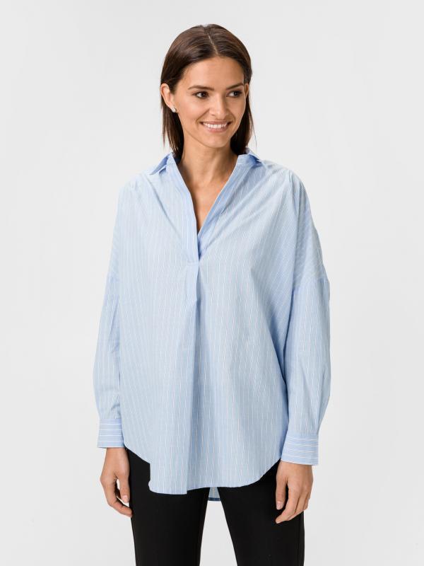 Adisian Košile French Connection Modrá