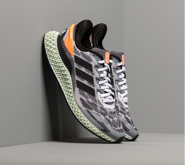 adidas 4D Run 1.0 Ftw White/ Core Black/ Signature Coral