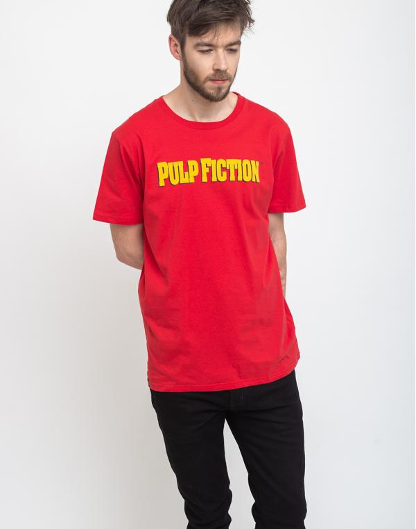 Dedicated T-shirt Stockholm Pulp Fiction Red S