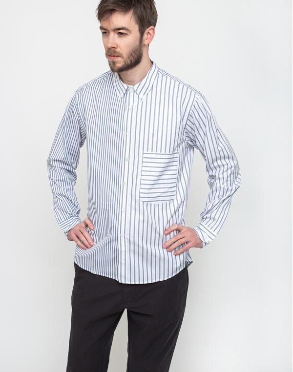 Loreak Shirts Cruce Strd Monti A-navy S
