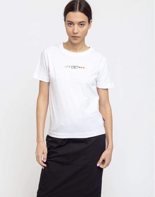 Dedicated T-shirt Mysen Worth Protecting White M