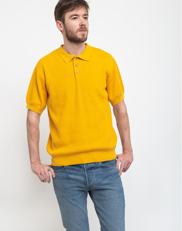 Dedicated Sweater Short Sleeve Gnesta Yellow L