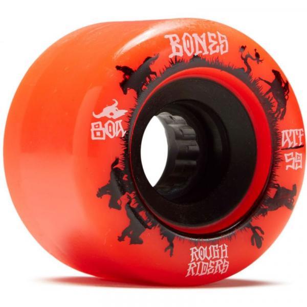 SK8 KOLA BONES ROUGH RIDERS WRANGLERS - červená