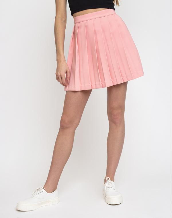 Lazy Oaf Pleated Skirt Pink S