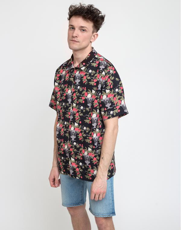 Lazy Oaf Nip It In The Bud Bowling Shirt Multi S