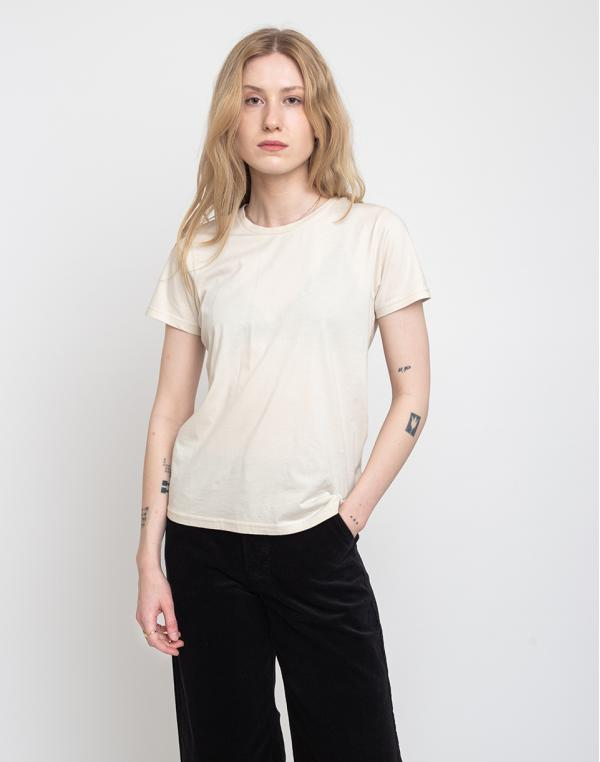 Colorful Standard Women Light Organic Tee Ivory White XS