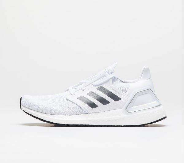 adidas UltraBOOST 20 Ftw White/ Night Metalic/ Dash Grey