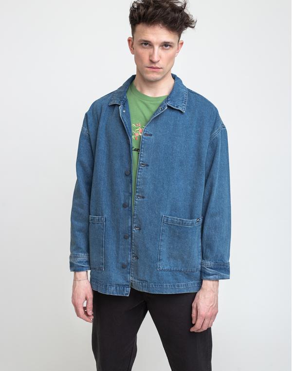 Lazy Oaf Chore Jacket Blue XS
