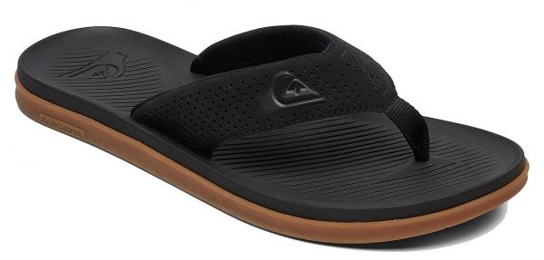 žabky Quiksilver Haleiwa Plus - XKKC/Black/Black/Brown 41