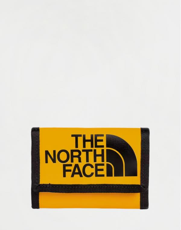 The North Face Base Camp Wallet TNF Yellow/ TNF Black