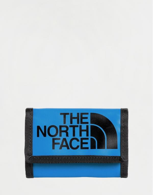 The North Face Base Camp Wallet Clear Lake Blue/ TNF Black