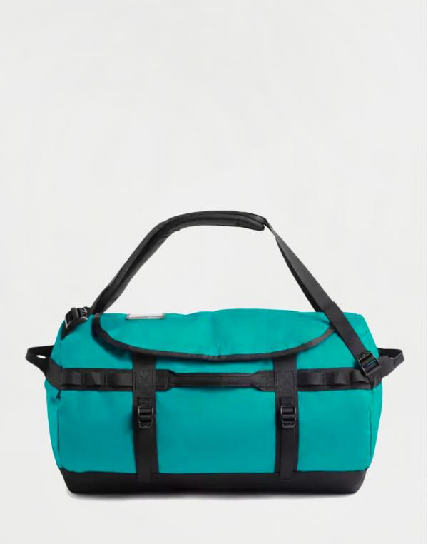 The North Face Base Camp Duffel S Fanfare Green/ TNF Black