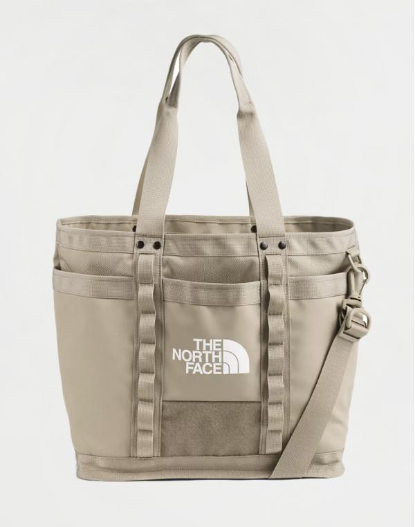 The North Face Explore Utility Tote Twill Beige/ TNF White