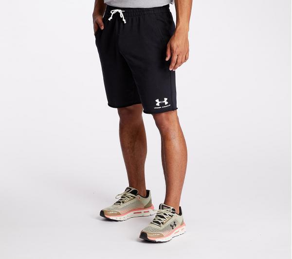 Under Armour Sportstyle Terry Shorts Black/ Onyx White