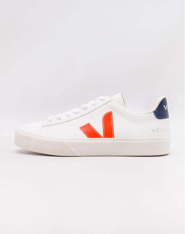 Veja Campo Extra White Orange Fluo Cobalt 42