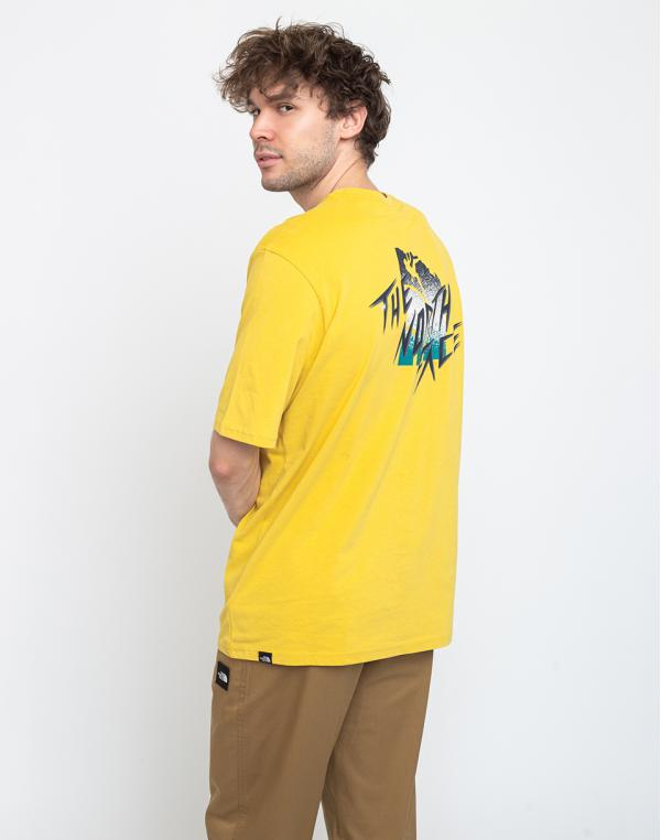 The North Face Mos Tee Bamboo Yellow XS
