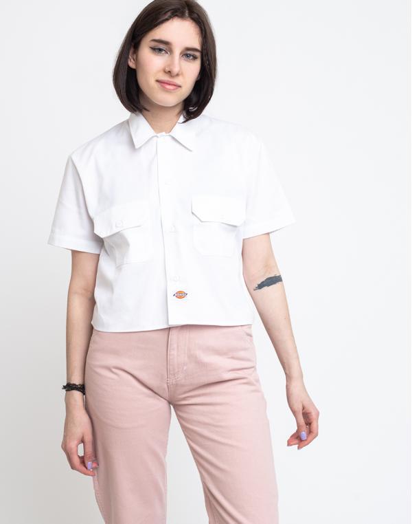 Dickies Silver Grove Shirt White S