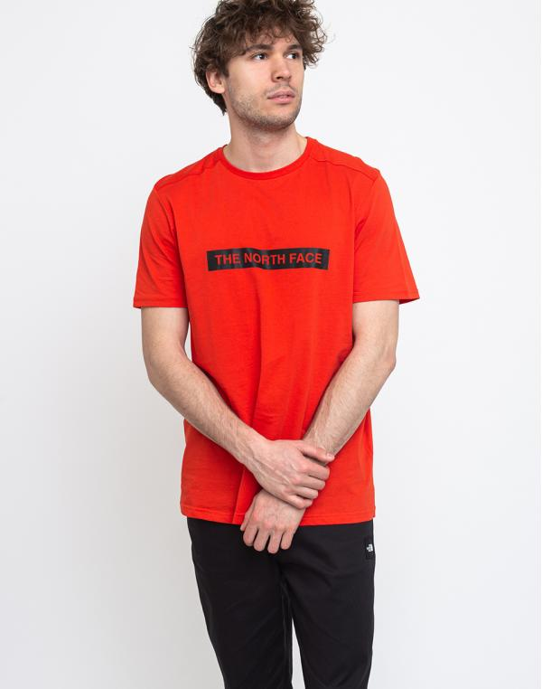 The North Face Light Tee Fiery Red S