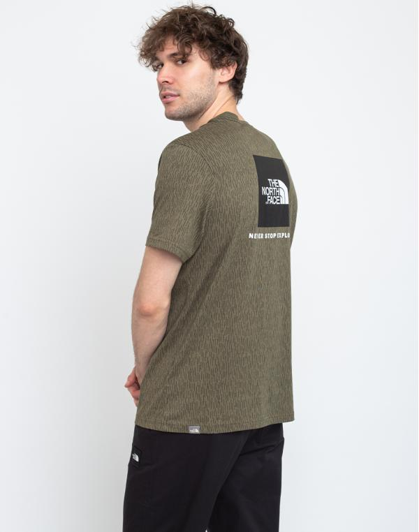 The North Face Red Box Tee Burntolive S