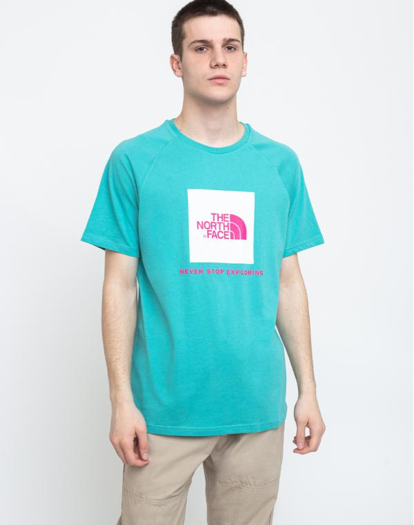 The North Face Rag Red Box Tee Lagoon S