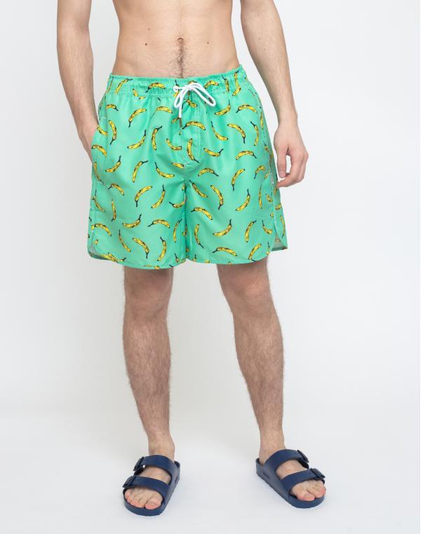 Dedicated Swim Shorts Sandhamn Bananas Mint S