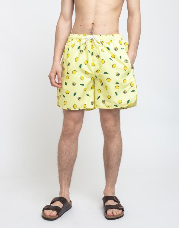 Dedicated Swim Shorts Sandhamn Lemons Yellow M