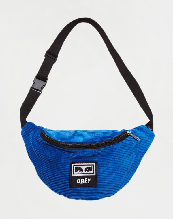 Obey Wasted Hip Bag Ultramarine