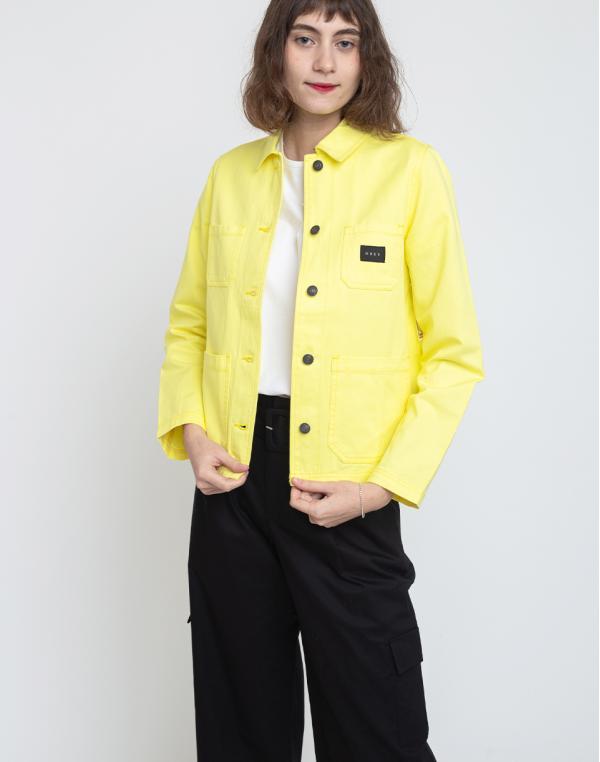 Obey Slacker Chore Coat Lemon S