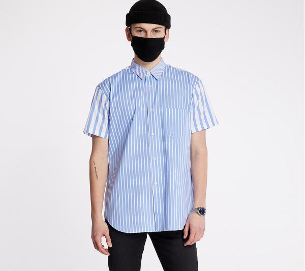 Comme des Garçons SHIRT Striped Shirt Blue/ White
