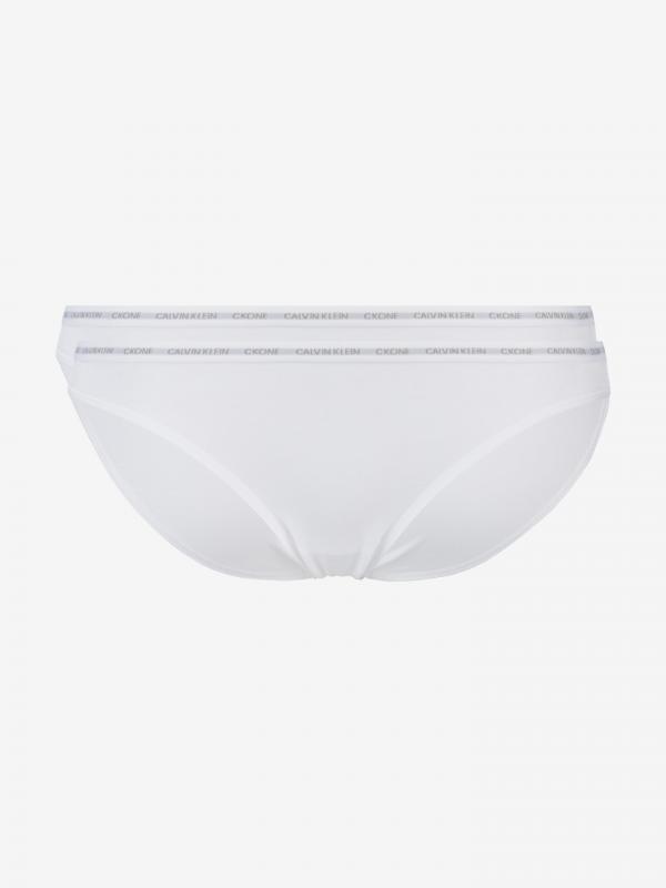 Kalhotky 2 ks Calvin Klein Bílá