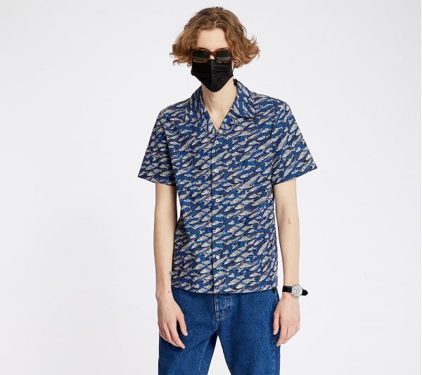 A.P.C. Chemisette David Shirt Blue