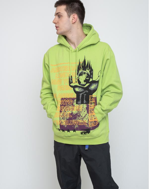 Obey Our Planet Bright Lime L