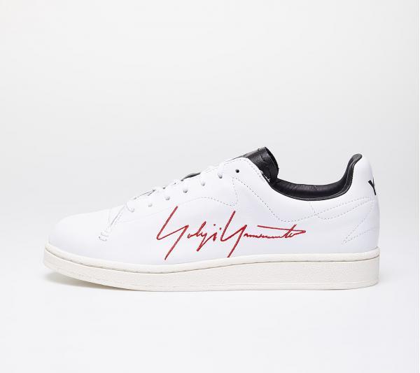 Y-3 Yohji Court Ftw White/ Red/ Black