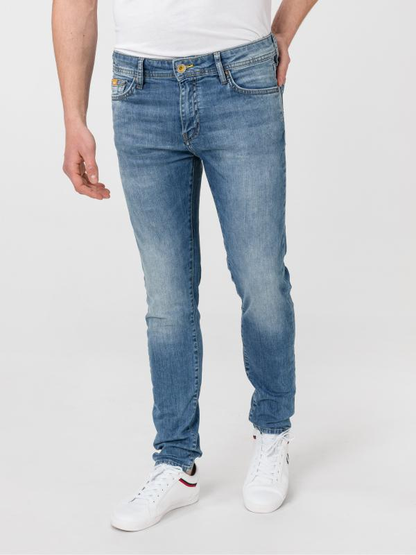 Sax Camo Jeans GAS Modrá