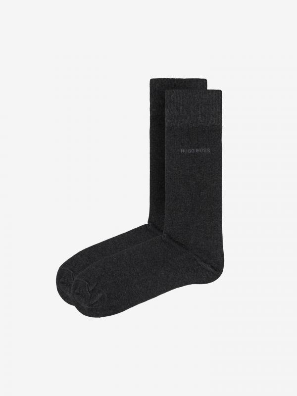 Ponožky 2 páry BOSS Šedá