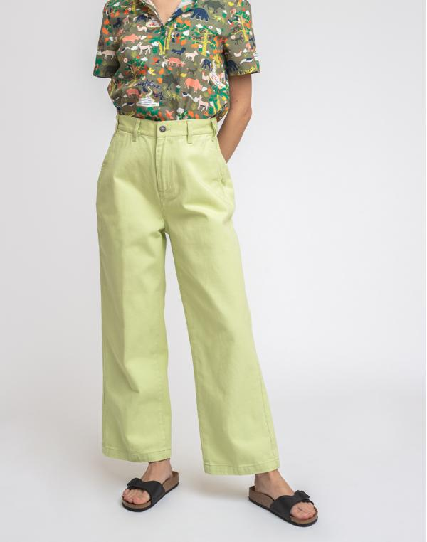 Obey Crush Pant Sea Green 26
