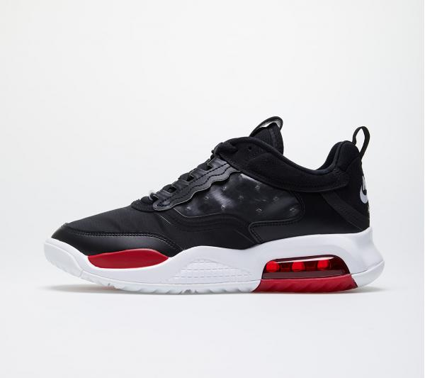 Jordan Max 200 Black/ Gym Red-White